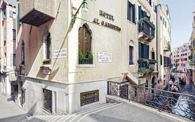 Отель Antica Locanda al Gambero вид на фасад