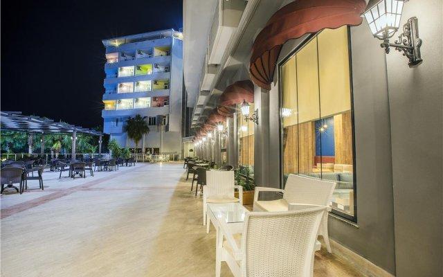 Meridia Beach Hotel Турция, Окурджалар - отзывы, цены и фото номеров - забронировать отель Meridia Beach Hotel онлайн вид на фасад