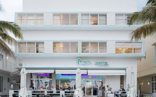 The Penguin Hotel In Miami Beach