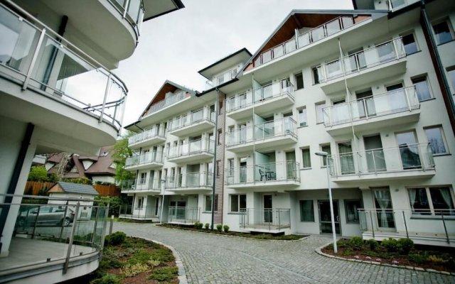 Отель Tatrytop Stara Polana Spa Закопане вид на фасад