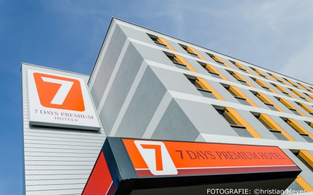 Отель 7 Days Premium Munich-sendling Мюнхен вид на фасад