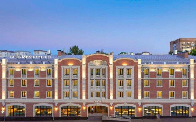 Гостиница Меркюр Нижний Новгород Центр вид на фасад