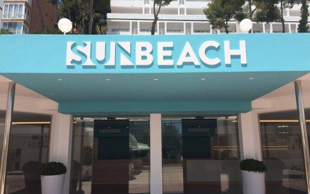 Отель Apartamentos Sun Beach вид на фасад