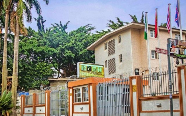 Beni Gold Apartment Hotel Лагос вид на фасад