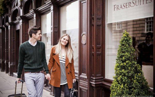 Отель Fraser Suites Edinburgh вид на фасад