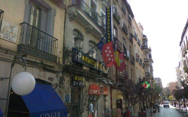 Отель CH Plaza D'Ort Rooms Madrid вид на фасад