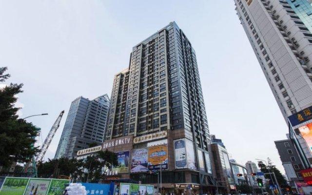 Отель Holiday Apartment Hotel Китай, Шэньчжэнь - отзывы, цены и фото номеров - забронировать отель Holiday Apartment Hotel онлайн вид на фасад