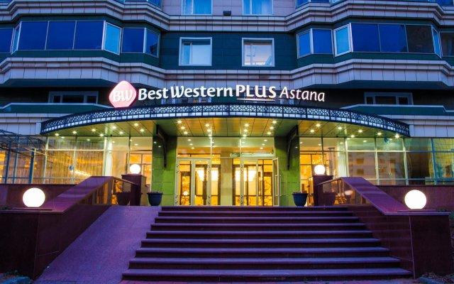 Гостиница Best Western Plus Astana вид на фасад