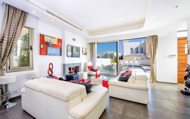 Отель Villa Imperial Кипр, Протарас - отзывы, цены и фото номеров - забронировать отель Villa Imperial онлайн комната для гостей