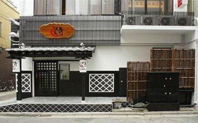 Отель Khaosan Tokyo Samurai Токио вид на фасад