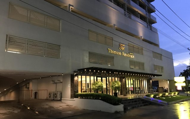 Thomson Hotel Huamark вид на фасад