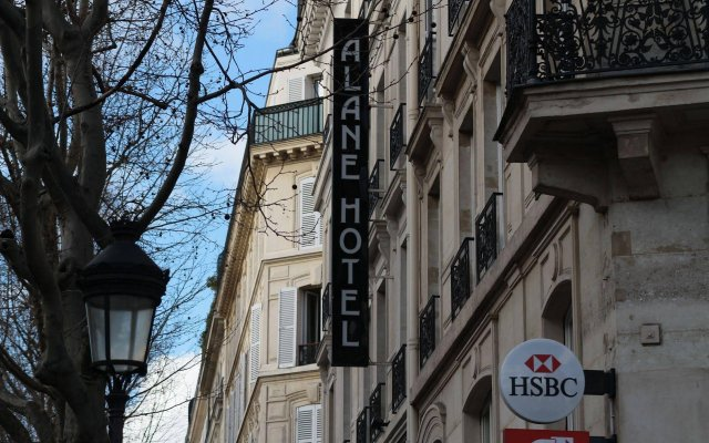 Отель Hôtel Alane вид на фасад