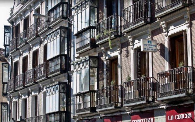 Отель Hostal Abel Victoriano Испания, Мадрид - 1 отзыв об отеле, цены и фото номеров - забронировать отель Hostal Abel Victoriano онлайн вид на фасад