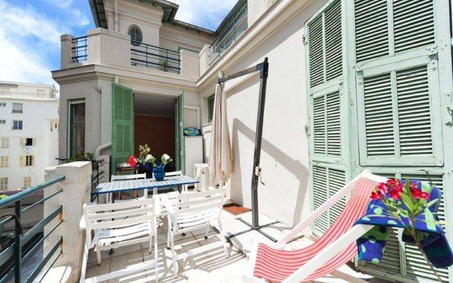 Отель Appartement La Terrasse - 5 Stars Holiday House балкон