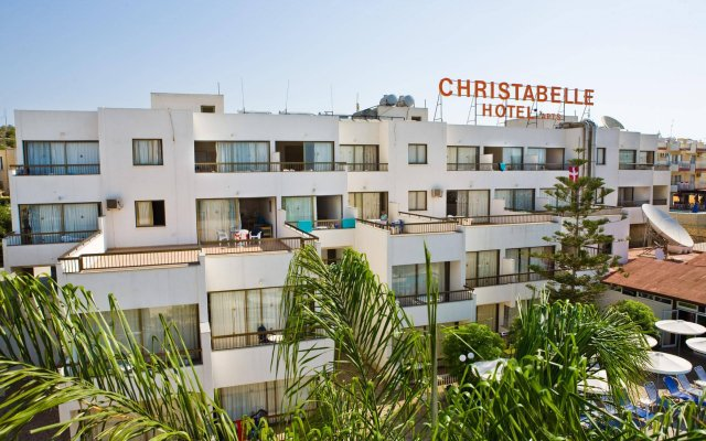 Christabelle Hotel Apartments вид на фасад