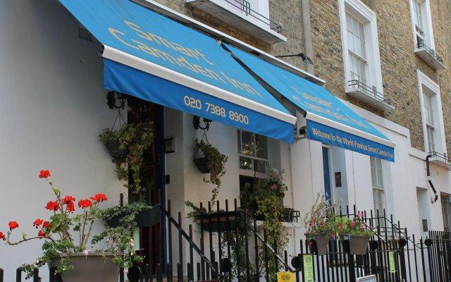 Отель Smart Camden Inn Hostel Великобритания, Лондон - отзывы, цены и фото номеров - забронировать отель Smart Camden Inn Hostel онлайн вид на фасад