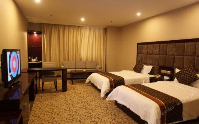 Isleep Hotel (Xi'an Dongmen) комната для гостей