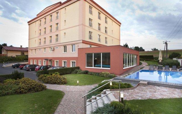 Отель Francis Palace Чехия, Франтишкови-Лазне - отзывы, цены и фото номеров - забронировать отель Francis Palace онлайн вид на фасад