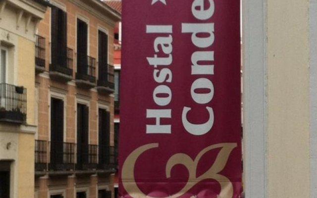 Отель Hostal Condestable вид на фасад