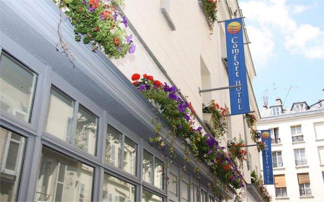 Comfort Hotel Paris La Fayette вид на фасад