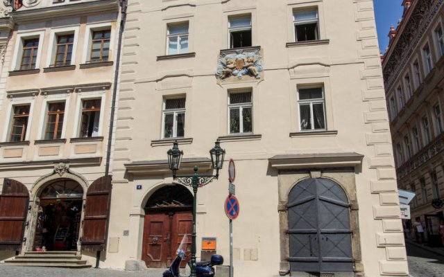 Отель Nerudova Чехия, Прага - отзывы, цены и фото номеров - забронировать отель Nerudova онлайн вид на фасад