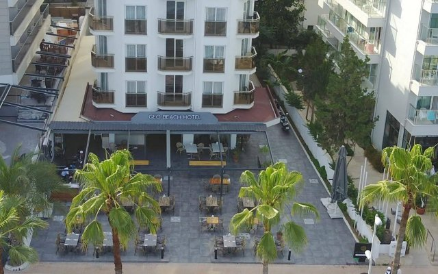 Geo Beach Hotel Мармарис вид на фасад