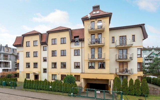 Апартаменты Dom & House – Apartment Polna Sopot Сопот вид на фасад