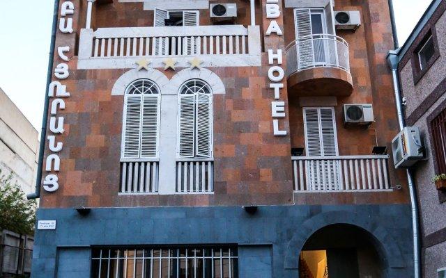Отель Alba Hotel Армения, Ереван - отзывы, цены и фото номеров - забронировать отель Alba Hotel онлайн вид на фасад