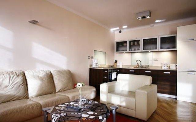 Апартаменты Apartment Piwna комната для гостей