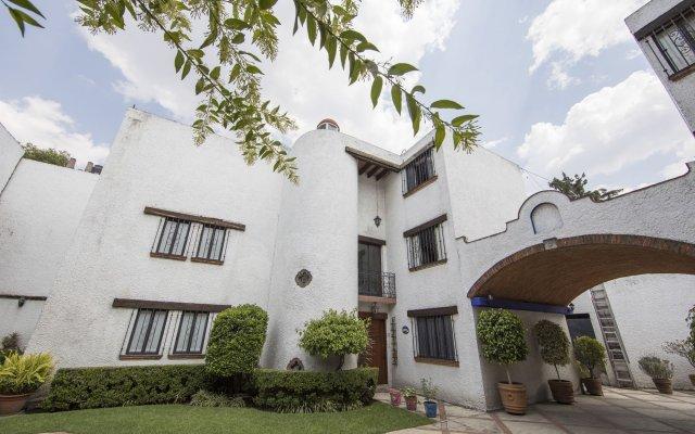 Отель Casa Ayvar Мексика, Мехико - отзывы, цены и фото номеров - забронировать отель Casa Ayvar онлайн вид на фасад