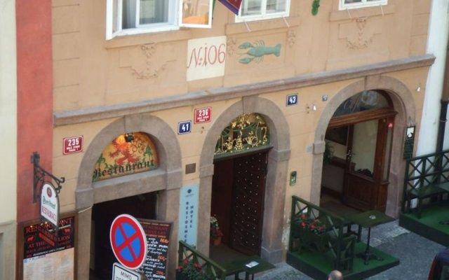 Отель Residence Green Lobster Чехия, Прага - 1 отзыв об отеле, цены и фото номеров - забронировать отель Residence Green Lobster онлайн вид на фасад