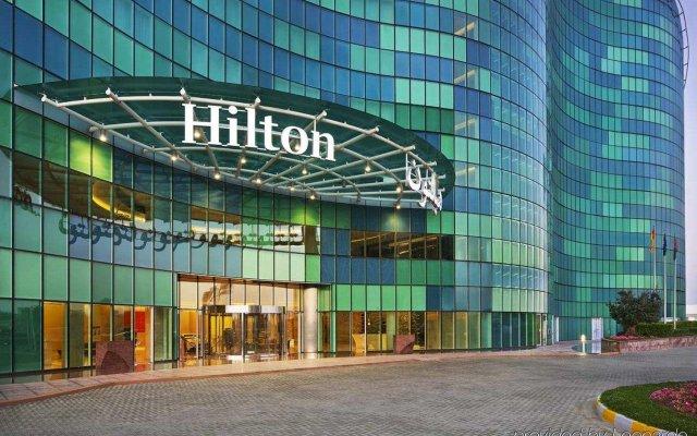 Отель Hilton Capital Grand Abu Dhabi ОАЭ, Абу-Даби - отзывы, цены и фото номеров - забронировать отель Hilton Capital Grand Abu Dhabi онлайн вид на фасад