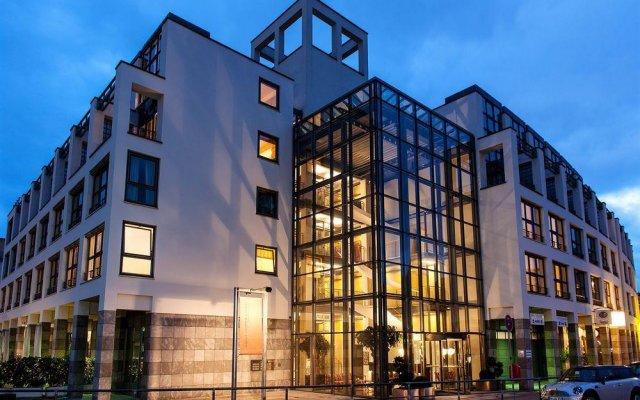 Апартаменты Hanse Clipper Haus Apartments Hamburg Гамбург вид на фасад