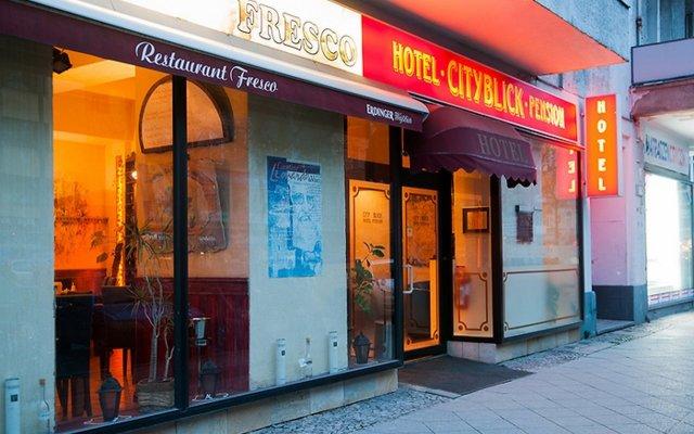 Отель Cityblick вид на фасад