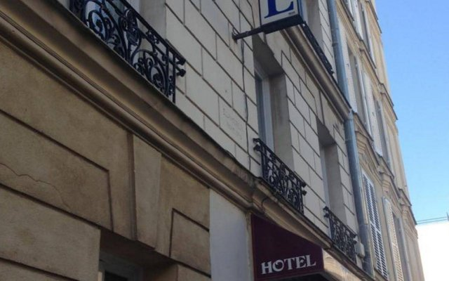 Hotel Residence Champerret вид на фасад