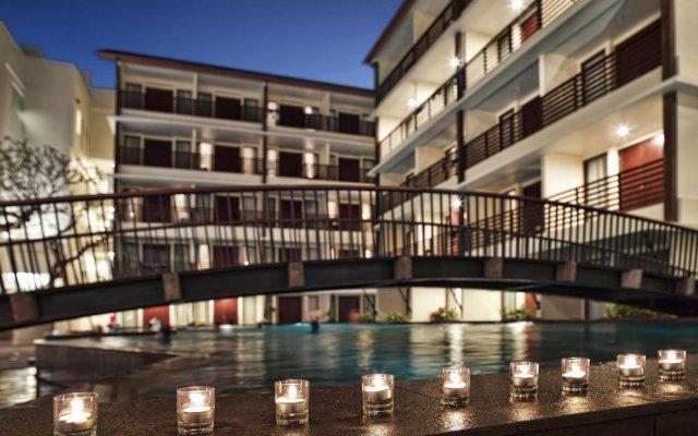 Sun Island Hotel Kuta вид на фасад