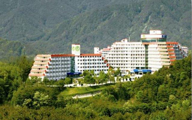 Отель Hyundai Soo Resort Sokcho вид на фасад