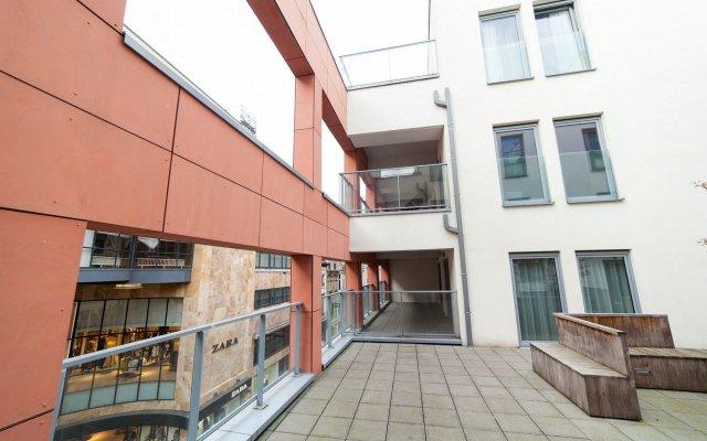 Апартаменты Sweet Inn Apartments Argent Брюссель вид на фасад