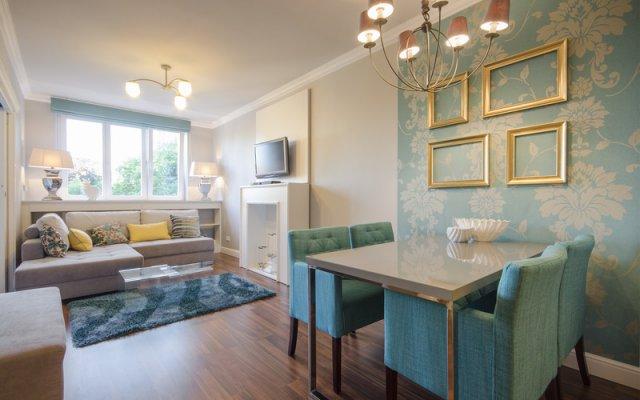 Апартаменты Dom&house Apartments Monte Cassino - Turkusowy Сопот комната для гостей