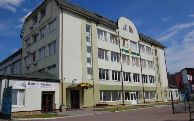 Гостиница Пальма вид на фасад
