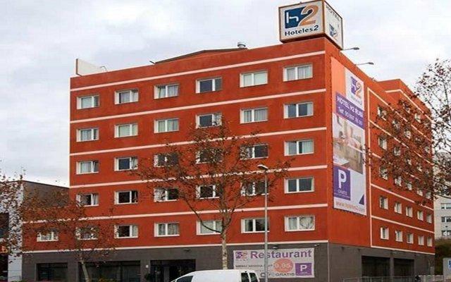 B&B Hotel Barcelona Rubi вид на фасад
