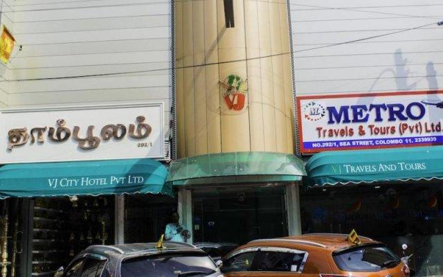 Отель VJ City Hotel Шри-Ланка, Коломбо - отзывы, цены и фото номеров - забронировать отель VJ City Hotel онлайн вид на фасад