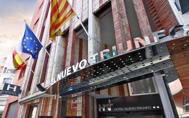 Отель Nuevo Triunfo Испания, Барселона - 2 отзыва об отеле, цены и фото номеров - забронировать отель Nuevo Triunfo онлайн вид на фасад