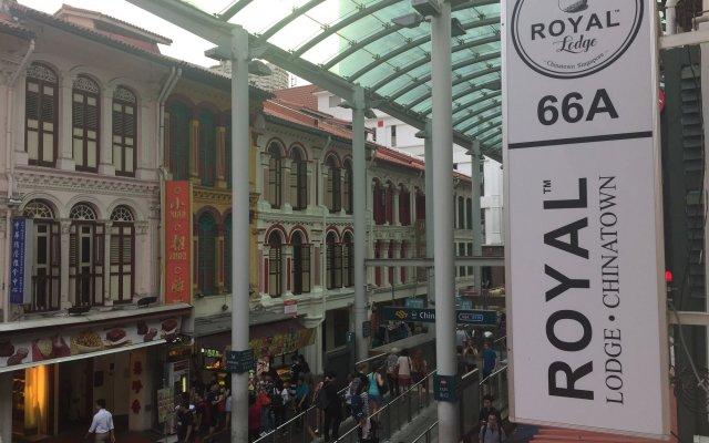 Royal Lodge @ Pagoda Street - Hostel Сингапур вид на фасад