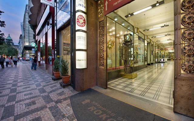 EA Hotel Rokoko вид на фасад