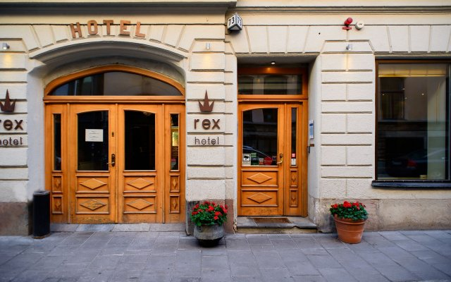Отель Rex Petit Стокгольм вид на фасад