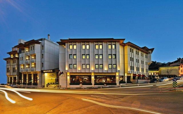 Marigold Thermal Spa Hotel Турция, Бурса - отзывы, цены и фото номеров - забронировать отель Marigold Thermal Spa Hotel онлайн вид на фасад