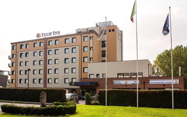 Отель Tulip Inn Padova Падуя вид на фасад