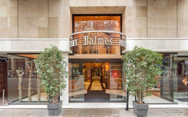 Отель Balmes Испания, Барселона - 10 отзывов об отеле, цены и фото номеров - забронировать отель Balmes онлайн вид на фасад