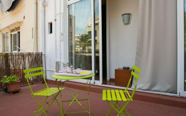 Отель Incredible Loft With Private Terrace Барселона вид на фасад